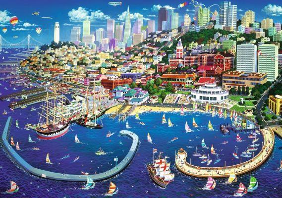 Trefl Puzzle San Francisco Bay 2000 Parça