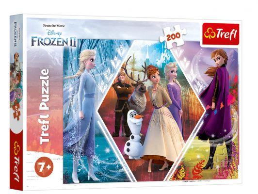 Trefl Puzzle Sisters In Frozen II 200 Parça Yapboz