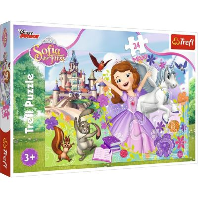 Trefl Puzzle Sofia The First Sofia\'s Colorful World 24 Parça Maxi Yapboz