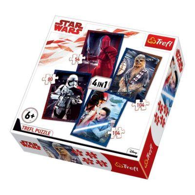 Trefl Puzzle Star Wars Episode VIII Ready for Battle 4'lü 35+48+54+70 Parça Yapboz