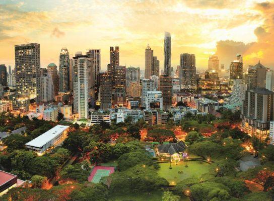 Trefl Puzzle Sunset In Bangkok 3000 Parça