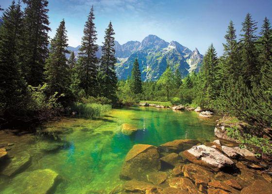 Trefl Puzzle Tatra Mountains 500 Parça