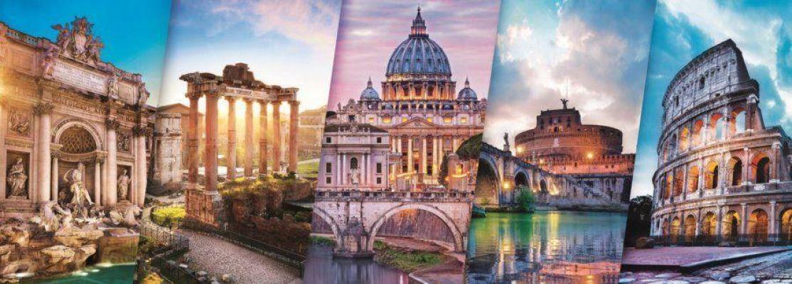 Trefl Puzzle Traveling To Italy 500 Parça Panorama