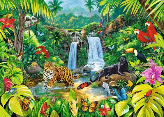 Trefl Puzzle Tropical Forest 2000 Parça