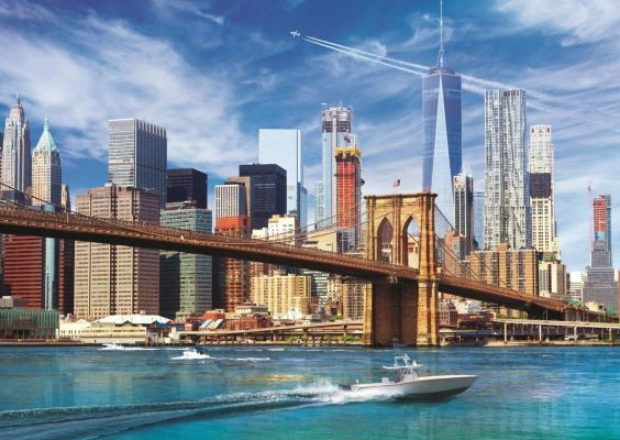 Trefl Puzzle View Of New York 500 Parça