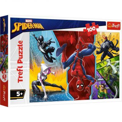 Upside Down, Disney Spiderman 100 Parça Yapboz