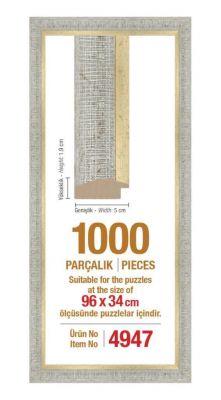 1000\'lik Panorama 96 x 34 cm Puzzle Çerçevesi