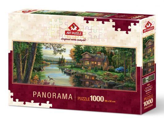 Art Puzzle Huzurun Resmi 1000 Parça Panorama Puzzle