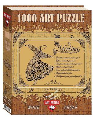 Art Puzzle Mevlana\'nın 7 Öğüdü 1000 Parça Simli & Kadife Puzzle