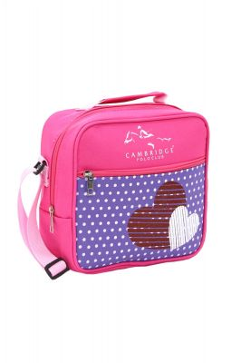CAMBRIDGE POLO BESLENME CANTASI PLBSL80006-PEMBE