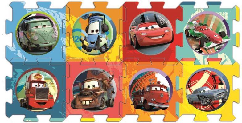 Cars, 20 Köpük Parça Yer Puzzle\'ı