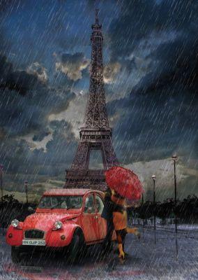 Eiffel & Yağmur & Aşk