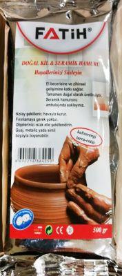 Fatih Dopal Kil Seramik Hamuru Kahverengi 500 gr