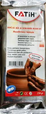Fatih Dopal Kil Seramik Hamur Kahverengi 250 gr