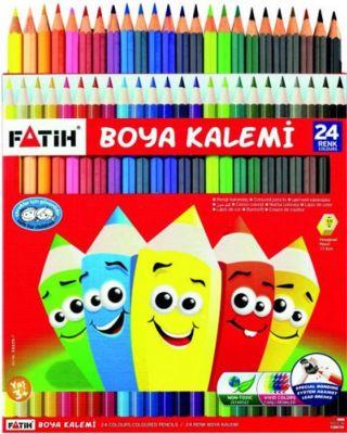 Fatih Kuru Boya Kalemi 24 lü 33225