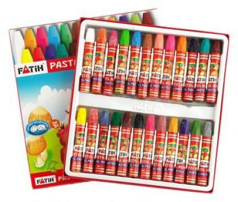 Fatih Pastel Boya Kutulu 24 lü