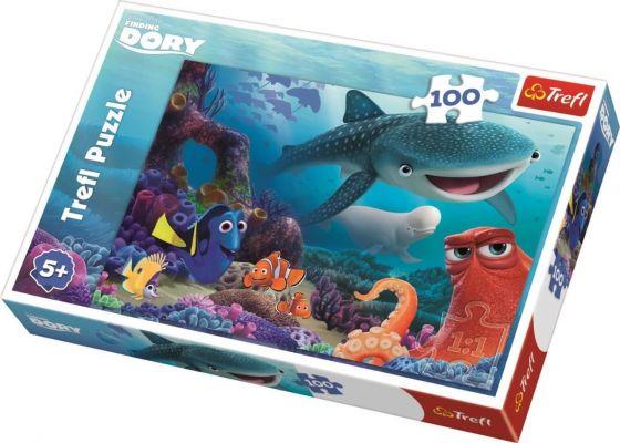 Finding Dory Underwater Adventure 100 Parça Yapboz