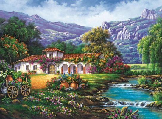 Hacienda By The Stream