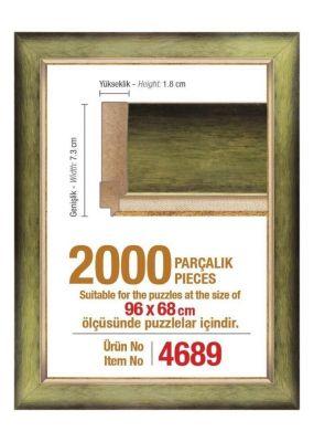 Heidi 4689 2000 Parça Puzzle Çerçevesi