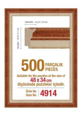 Heidi 4914 500 Parça Puzzle Çerçevesi
