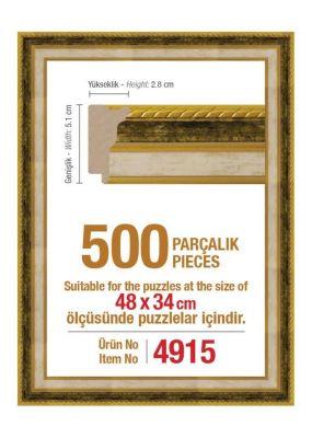 Heidi 4915 500 Parça Puzzle Çerçevesi