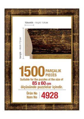 Heidi 4928 1500 Parça Puzzle Çerçevesi