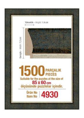 Heidi 4930 1500 Parça Puzzle Çerçevesi
