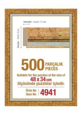 Heidi 4941 500 Parça Puzzle Çerçevesi