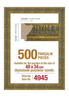 Heidi 4945 500 Parça Puzzle Çerçevesi