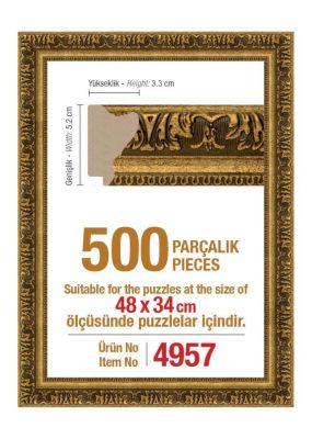 Heidi 4957 500 Parça Puzzle Çerçevesi