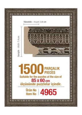 Heidi 4965 1500 Parça Puzzle Çerçevesi