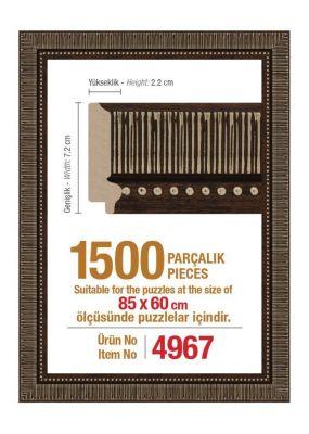 Heidi 4967 1500 Parça Puzzle Çerçevesi