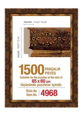 Heidi 4968 1500 Parça Puzzle Çerçevesi