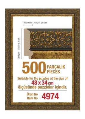 Heidi 4974 500 Parça Puzzle Çerçevesi