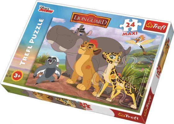 Lion Guard 24 Parça Maxi Yapboz