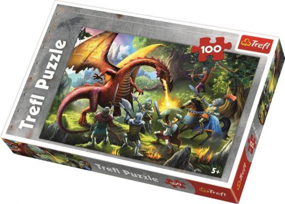 Meeting The Dragon 100 Parça Yapboz