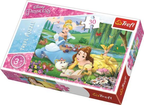 Princess Belle And Cinderella 30 Parça Yapboz