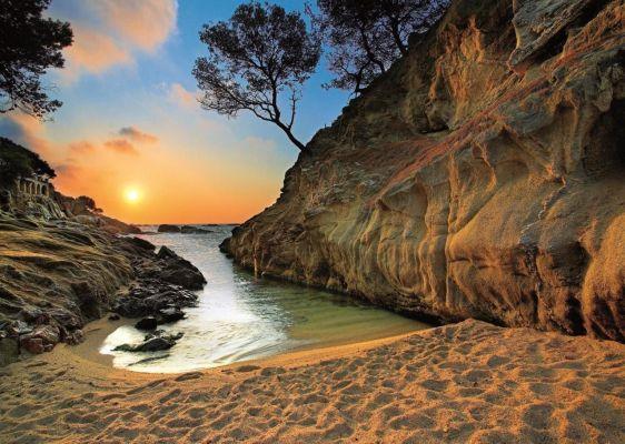 Sunrise Costa Brava, Spain