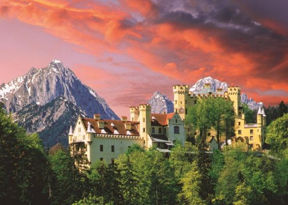 The Hohenschwangau Castle, Bavari