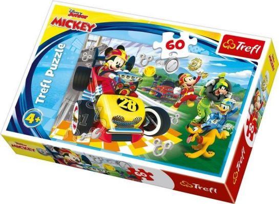 Trefl Çocuk Puzzle Rally with Friends / Disney Mickey and th 60 Parça Puzzle
