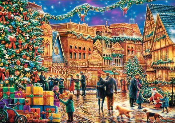 Trefl Puzzle Christmas Town Square 1000 Parça