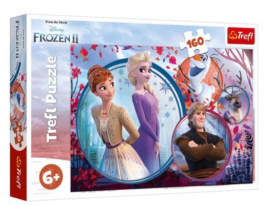 Trefl Puzzle Frozen II 160 Parça Yapboz