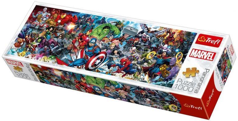 Trefl Puzzle  Join The Marvel Universe 1000 Parça Panoramik Puzzle