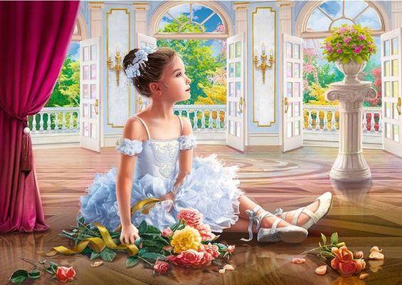 Trefl Puzzle Little Ballerina 500 Parça