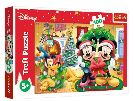 Trefl Puzzle Magic Of Christmas 100 Parça Yapboz
