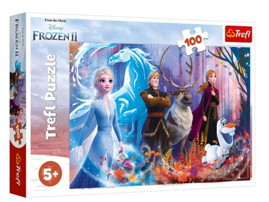 Trefl Puzzle Magic Of Frozen II 100 Parça Yapboz