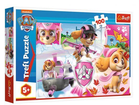 Trefl Puzzle Paw Patrol  Skye in Action 100 Parça Yapboz