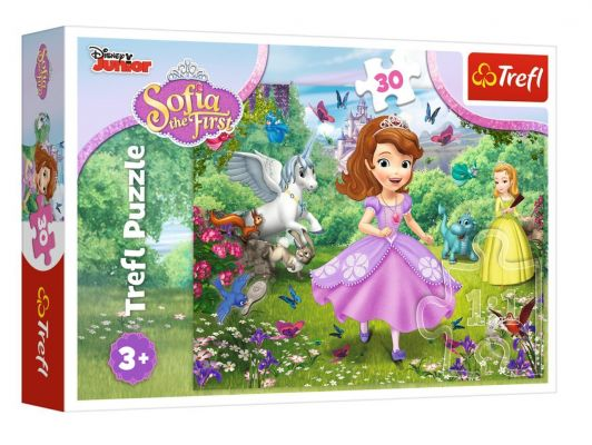Trefl Puzzle Sofia In The Garden 30 Parça Yapboz