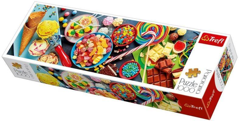 Trefl Puzzle  Sweet Delights 1000 Parça Panoramik Puzzle