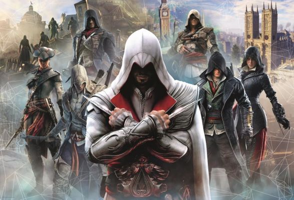 Ubisoft Assassin\'s Creed, Collage